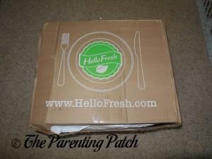 Freshly Delivered Hello Fresh Box