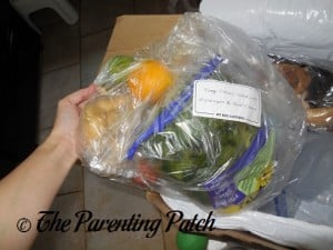 Fresh Ingredients in the Hello Fresh Box 2