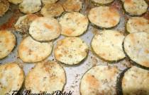 Oregano Parmesan Baked Zucchini Recipe