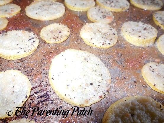 Parmesan Garlic Roasted Summer Squas