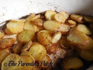 Garlic Sage Roasted Potatoes