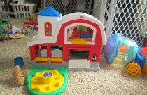 Cheap Baby Gear and Buying Used Baby Toys: Frugal Friday