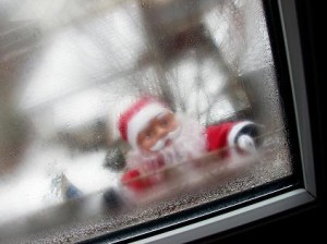 Santa Claus at the Window