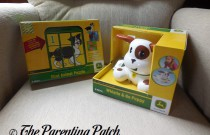 John Deere Toys Review: First Animal Puzzle and Whistle & Go Puppy