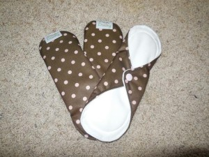 Pink Daisy Stay Dry Feminine Pads 2