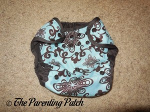 Aqua Swirl Planet Wise Cloth Diaper 1