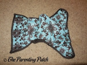 Aqua Swirl Planet Wise Cloth Diaper 3