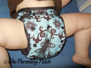 Aqua Swirl Planet Wise Cloth Diaper 4