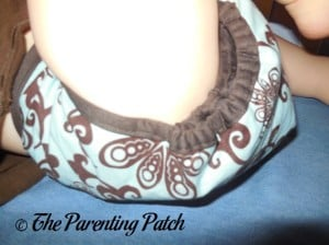 Aqua Swirl Planet Wise Cloth Diaper 5