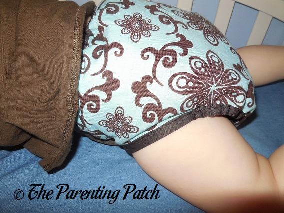 Aqua Swirl Planet Wise Cloth Diaper 7