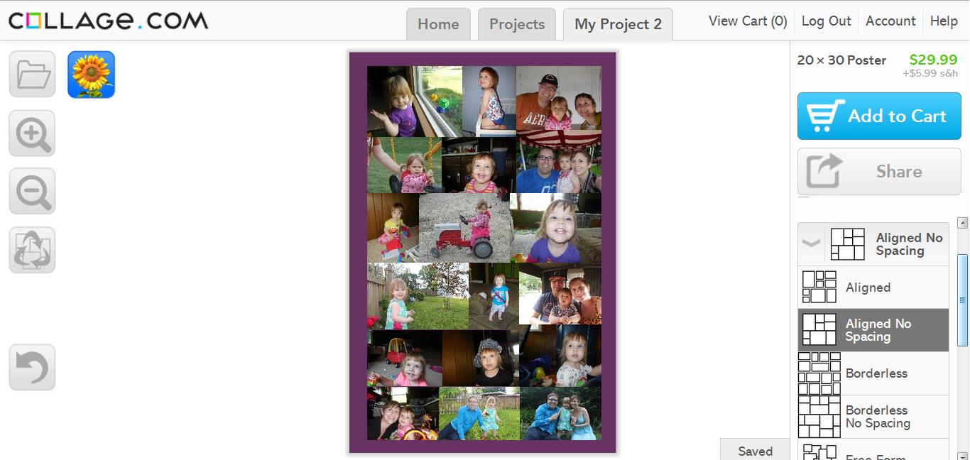 Collage.com Screenshot 3
