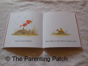 Inside Pages of Gideon & Otto by Olivier Dunrea 2