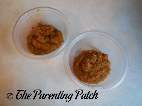 Beets, Beet Greens, and Carrots Baby Food 1