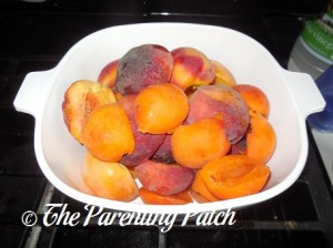 Raw Peaches and Apricots