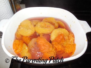 Cooked Peaches and Apricots