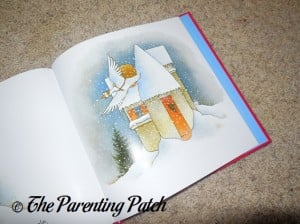 Inside Page of Merry Christmas, Ollie! by Olivier Dunrea 2