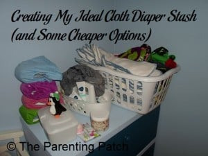 Creating My Ideal Cloth Diaper Stash