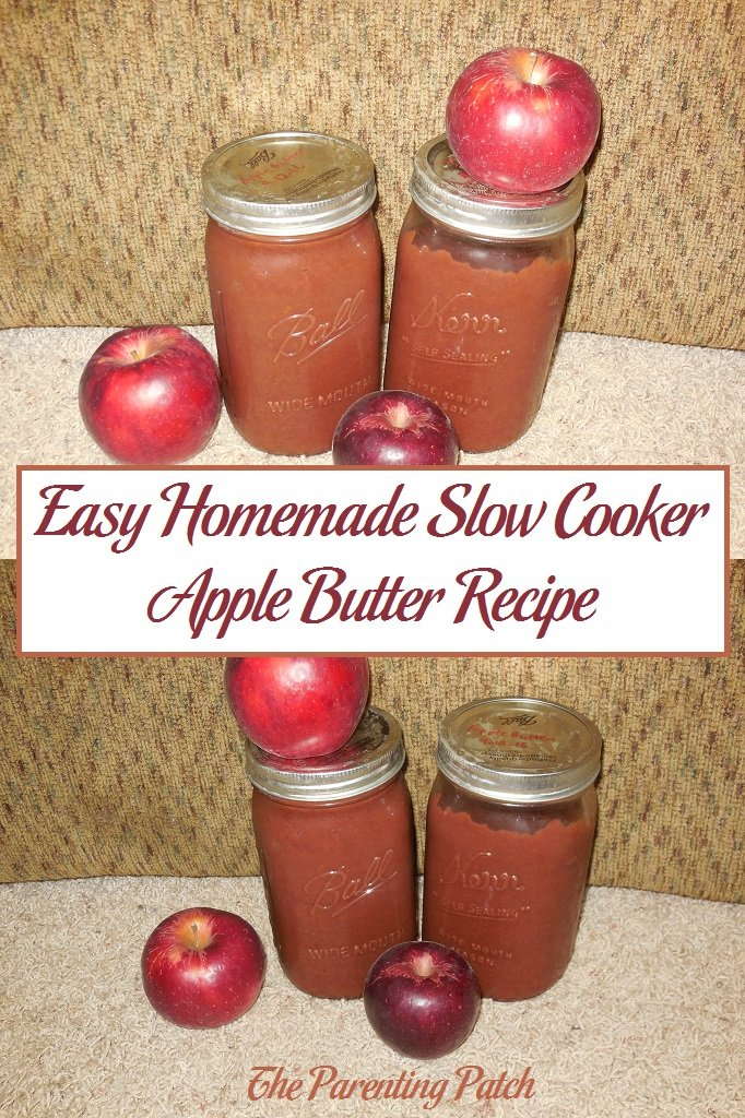 Easy Homemade Slow Cooker Apple Butter