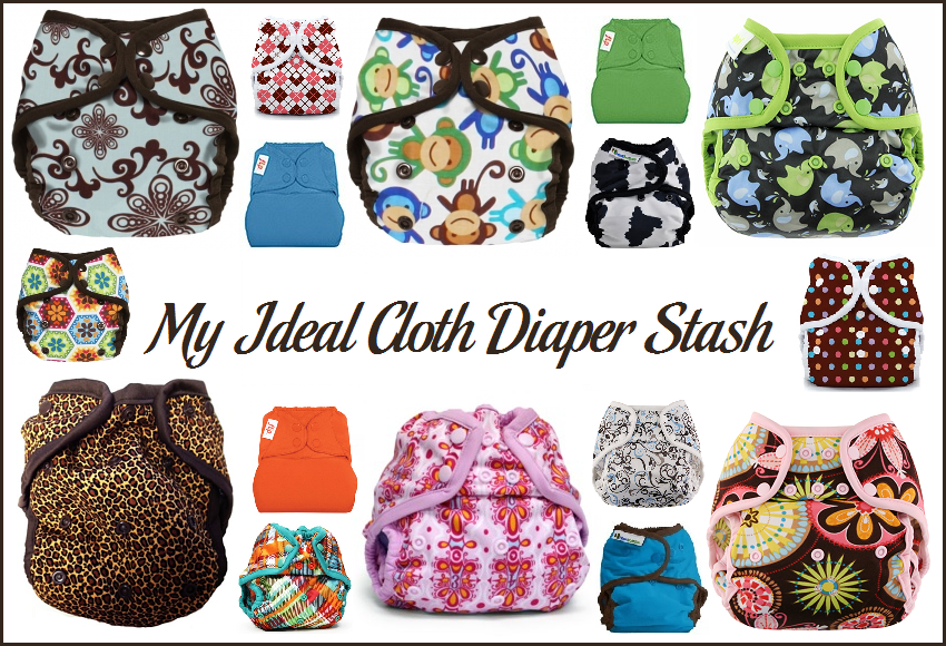 My Ideal Cloth Diaper Stash