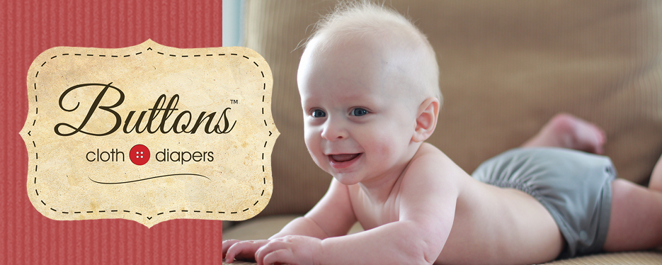 Buttons Diapers Logo