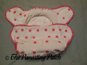 Inside the Front of the Wonderful Bambino Bamboo Fitted Diaper