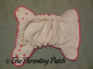Inside of Wonderful Bambino Bamboo Fitted Diaper