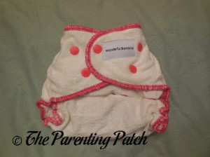Smallest Setting of Wonderful Bambino Bamboo Fitted Diaper