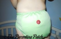 Sweet Pea Buttons Diaper: Daily Diaper