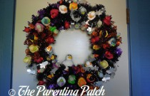 The Duck and the Halloween Duck-oration Wreath: The Rubber Ducky Project Week 43