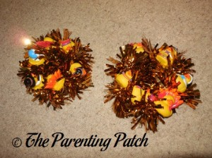 Two Thanksgiving Duck-oration Wreaths