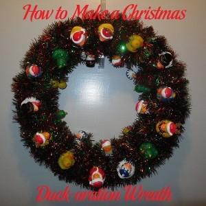 How to Make a Christmas Duck-oration Wreath