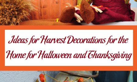 Ideas for Harvest Decorations for the Home for Halloween and Thanksgiving