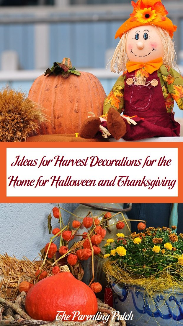Decorating Around Harvest Gold Bathroom: Ideas For Harvest Decorations For The Home For Halloween
