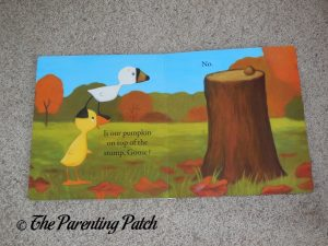 Inside Pages of Duck & Goose Find a Pumpkin 2