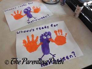 Purple Whooo's Ready for Halloween