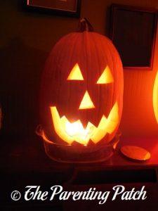 Halloween Jack o' Lantern 2013