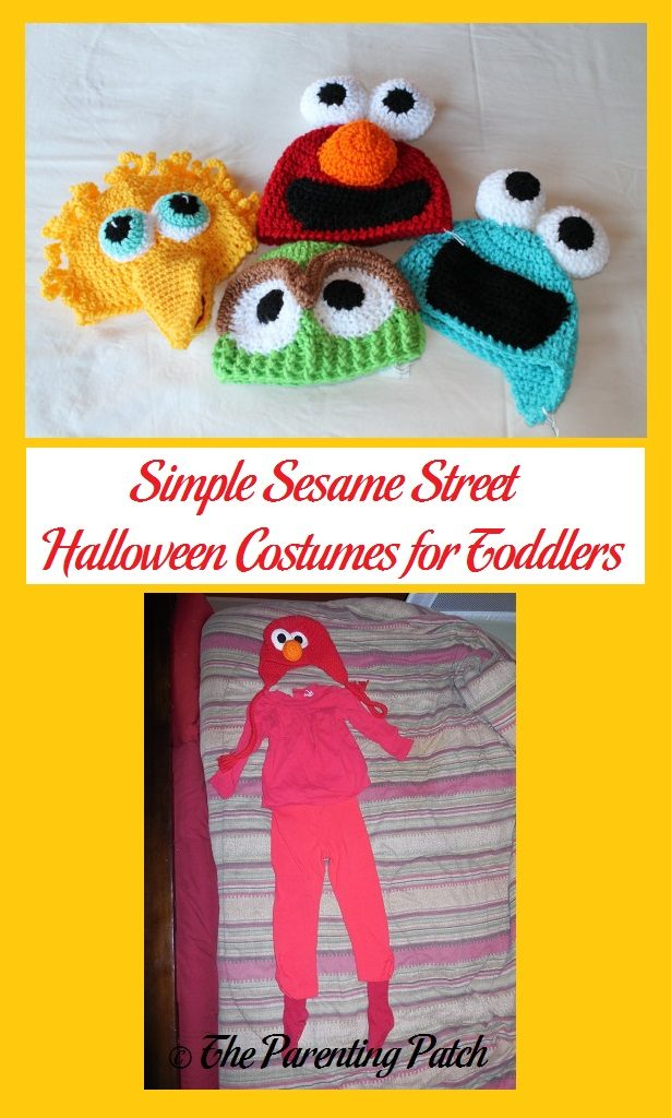 simple sesame street halloween costumes for toddlers parenting patch