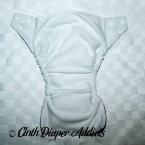 FuzziBunz Pink Puzzle Cloth Diaper 2
