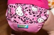 Hello Kitty Leopard Ella Bella Bum: Daily Diaper