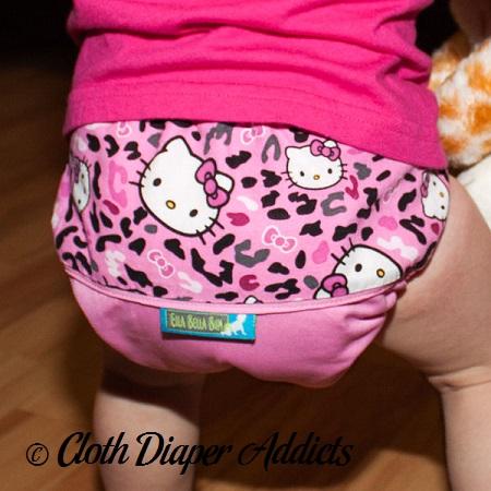 Hello Kitty Leopard Ella Bella Bum Daily Diaper
