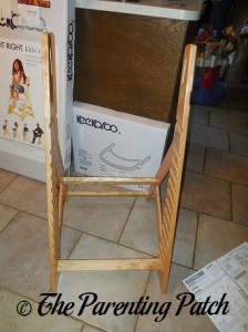Assembling the Keekaroo Height Right High Chair 1