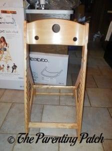 Assembling the Keekaroo Height Right High Chair 2