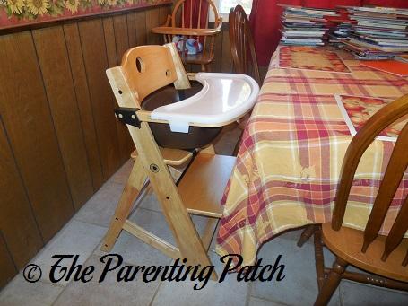 Assembled Keekaroo Height Right High Chair 1 ... & Keekaroo Height Right High Chair Review | Parenting Patch