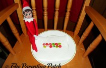 The Elf and the Elf Donuts: The Elf on the Shelf Day 1