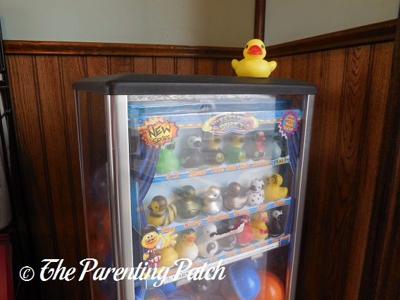 The Duck And The Rubber Duck Vending Machine The Rubber
