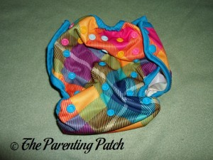 Largest Setting of the Rumparooz One-Size Cloth Diaper Cover