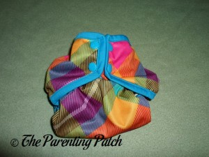 Smallest Setting of the Rumparooz One-Size Cloth Diaper Cover