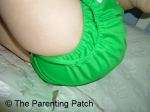 Double Leg Gussets of the Imagine Diaper Cover 2