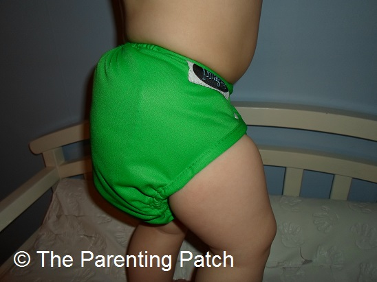Side of the Imagine Diaper Cover