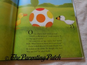 Inside Pages of Duck & Goose 1